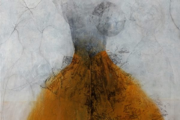 Robe 05 (jaune) huile sur toile 200 x 160 cm BD